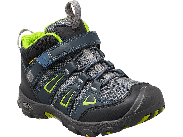 Keen Kids Oakridge Mid WP Shoes Midnight Navy/Macaw